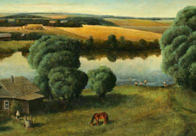 """Das Bild """"Sommer in Ljuzinka"""""""