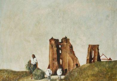 """Das Bild """"Auf den Ruinen des Schlosses"""""""